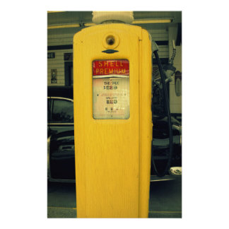 Old Shell Pump Stationery