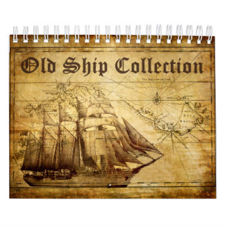 Old Ship Collection Small Calendar