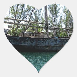 Old Ship Heart Sticker