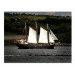 Old ship postcards