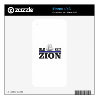 old ship zion skins for the iPhone 4