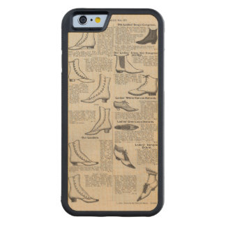 Old Shoe Advertising Vintage Victorian Carved Maple iPhone 6 Bumper Case