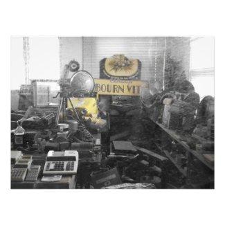 old shop of stuff