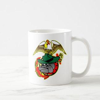 Old Skool Eagle Bulldog Anchor Coffee Mug