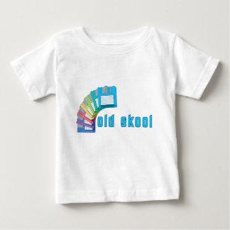 Old Skool Floppy Disks Baby T-Shirt
