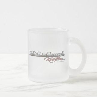 Old Skool Kustom 10 Oz Frosted Glass Coffee Mug