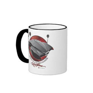 old skool Kustom Ringer Mug