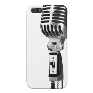 Old Skool Microphone Cases For iPhone 5