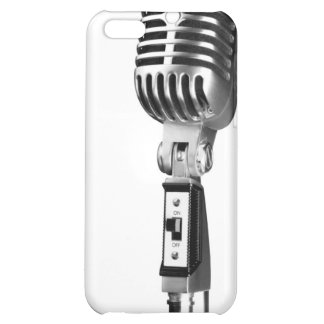 Old Skool Microphone Cover For iPhone 5C
