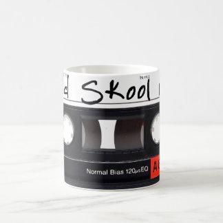 Old Skool Mix White 11 oz Classic White Mug