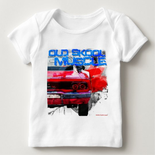 Old Skool Muscle Baby T-Shirt
