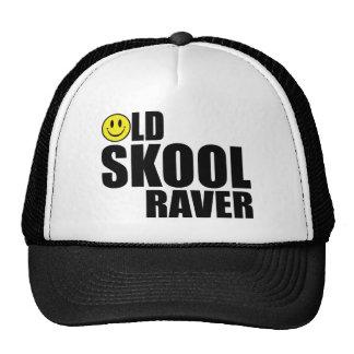 Old Skool Raver 2 (White) Trucker Hat