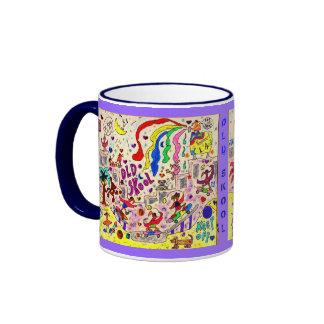 Old Skool Ringer Coffee Mug