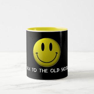 Old Skool sulk Two-Tone Coffee Mug