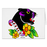 Old Skool Tattoo Black Panther Cards