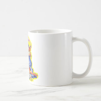Old Skool Tattoo Rock Of Ages Coffee Mug