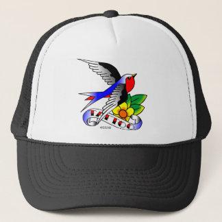 Old Skool Tattoo Swallow Trucker Hat