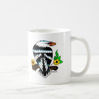 Old Skool Tattoo Traditional Eagle Coffee Mug