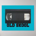 Old Skool - VHS Tape Print