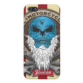 Old-Skull_MotorcycleBuylder-SHAPE I Cases For iPhone 5