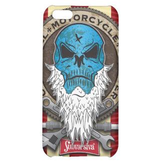 Old-Skull_MotorcycleBuylder-SHAPE I Cover For iPhone 5C