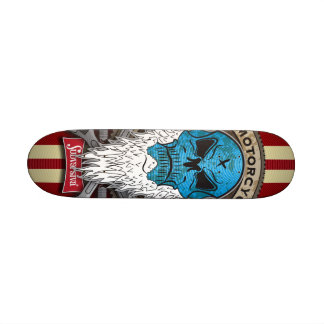Old-Skull_MotorcycleBuylder-SHAPE II Skate Boards