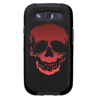 Old Skull red Galaxy SIII Case
