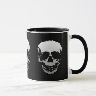 Old Skulls black and white Mug