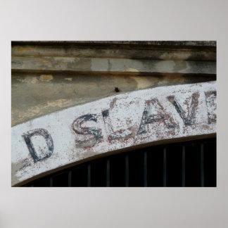 Old Slave Mart, Charleston South Carolina Poster