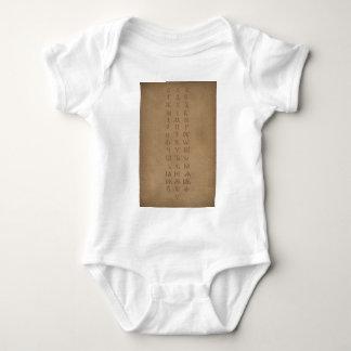old slavonic church alphabet shirt