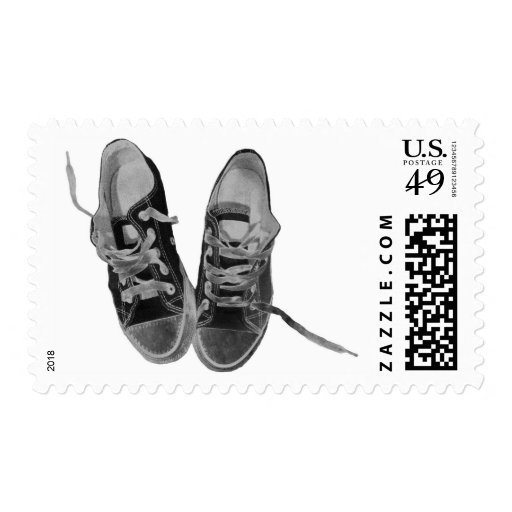 OLD SNEAKERS STAMP