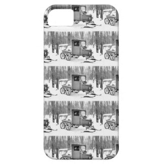 Old Snow Truck iPhone SE/5/5s Case