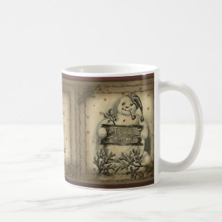 Old Snowy Primitive Country Style Coffee Mug