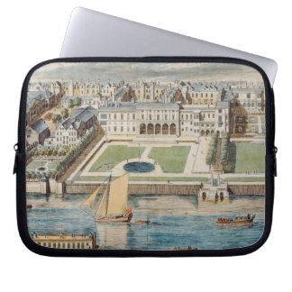 Old Somerset House on the Strand, engraved by Jean Laptop Sleeve