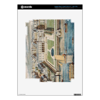 Old Somerset House on the Strand, engraved by Jean Skin For iPad 3