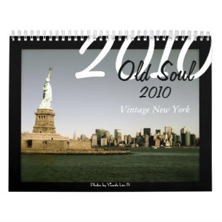 Old Soul 2010 Vintage New York (Faded Colors ed.) Wall Calendars