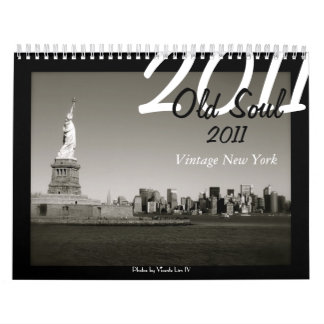 Old Soul 2011 Calendar - Vintage New York