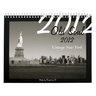 Old Soul 2012 Calendar - Vintage New York
