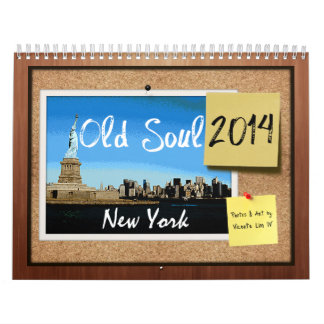 Old Soul 2014 New York Calendar