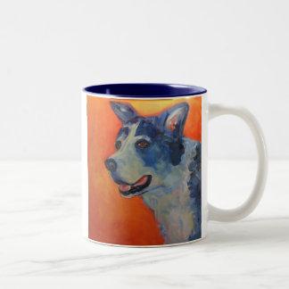 Old soul Sadie Two-Tone Coffee Mug