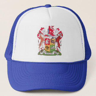 Old South African Coat of Arms Trucker Hat