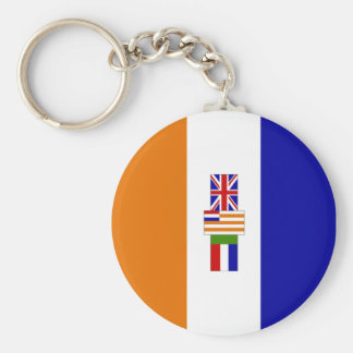 Old South African Flag Key Chains