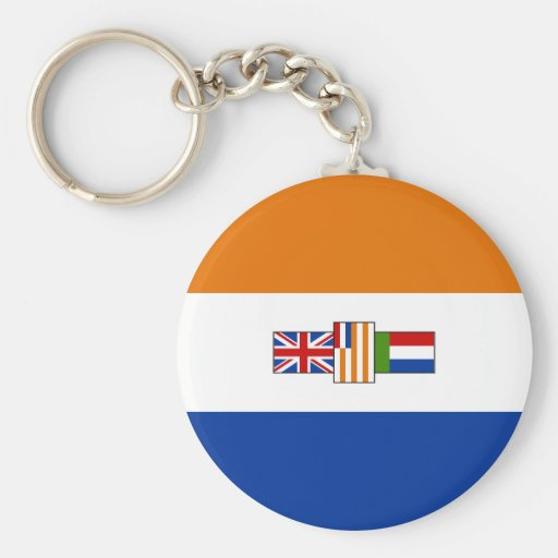 Old South African Flag Keychains