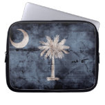 Old South Carolina Flag; Laptop Sleeves