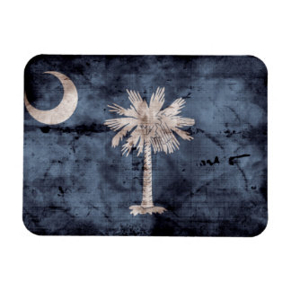 Old South Carolina Flag; Magnet