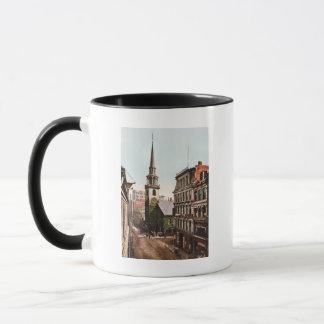 Old South Church Boston 1900 - Vintage Mug