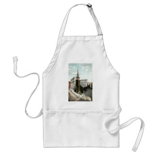 Old South Church Boston Mass. 1908 Vintage Adult Apron