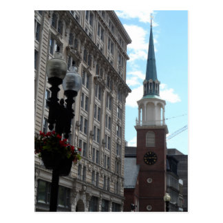 Old South Meeting House- Boston Postcard