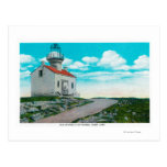 Old Spanish Lighthouse at Point Loma Postcard