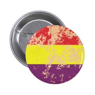 Old Spanish Republic 2 Inch Round Button